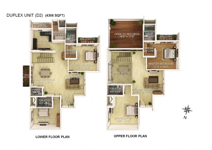 slide25 Duplex Lake Home Floor Plans on 1000 sq ft, modern 2 story, 1920s luxury apartment, 900 sq ft, one story garage, barn style, 2 bedroom two bath, for 24x60,